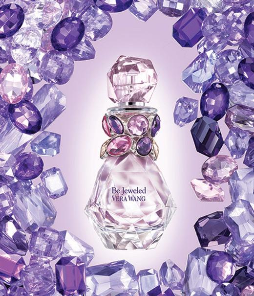 Vera Wang Be Jeweled flacon ad