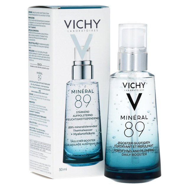 Vichy Mineral 89 Bottle Box