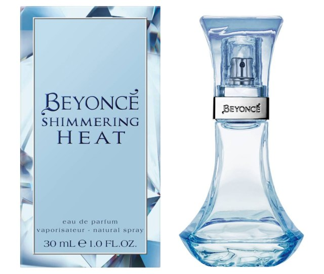 Beyoncé Shimmering Heat Bottle and Box