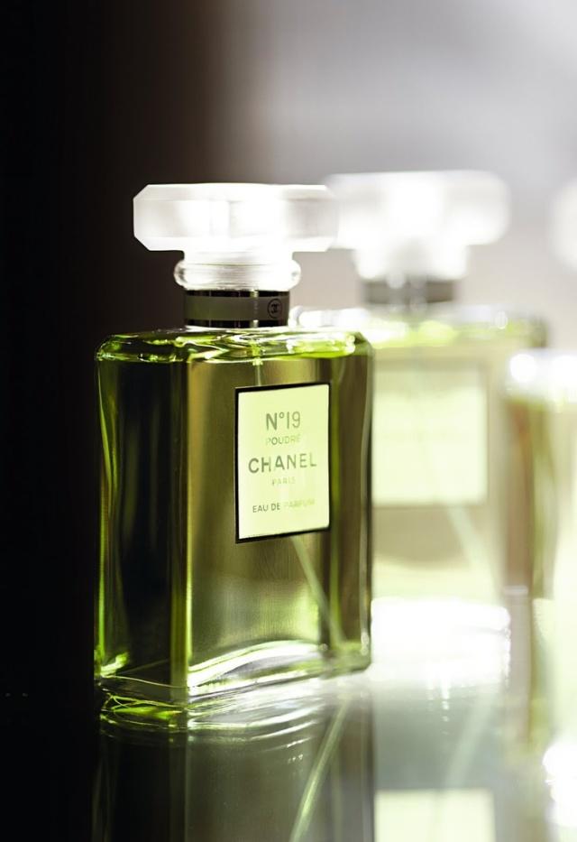 Chanel N°19 Poudré Bottle Side1