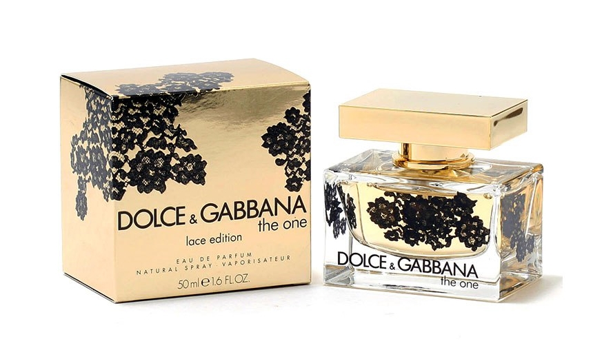 Dolce & Gabbana The One Lace Edition Bottle Box