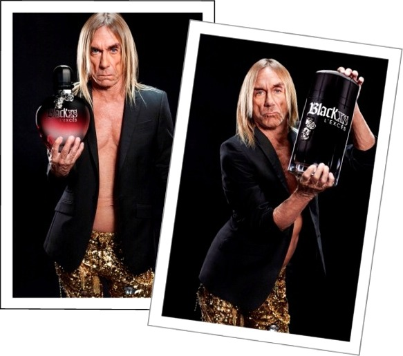 Paco Rabanne Black XS L_Exces For Men For Women and Iggy Pop