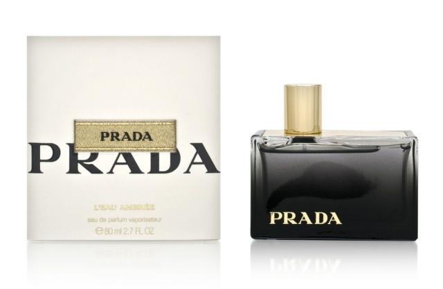 Prada L`Eau Ambree 80ml Eau de Parfum.