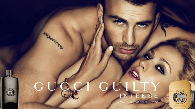 The Gucci Guilty Intense Chris Evans