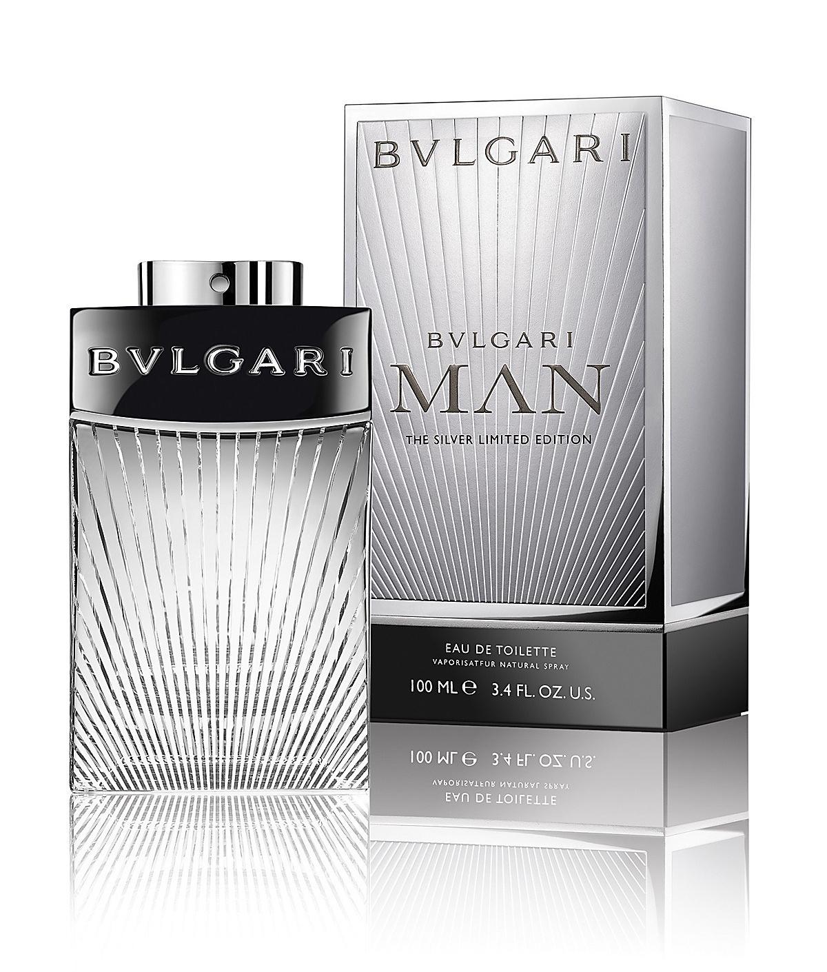 Bvlgari Man The Silver Limited Edition Flacon Box