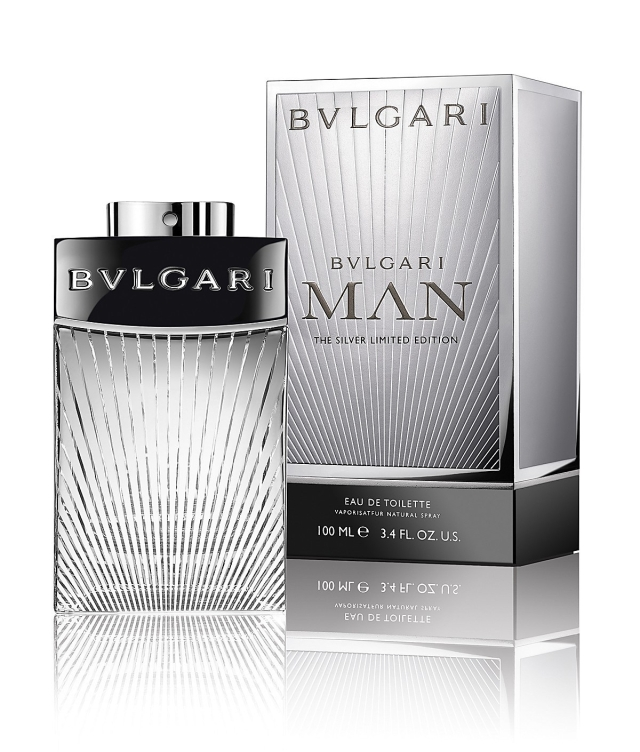 Bvlgari Man The Silver Limited Edition Flacon Box