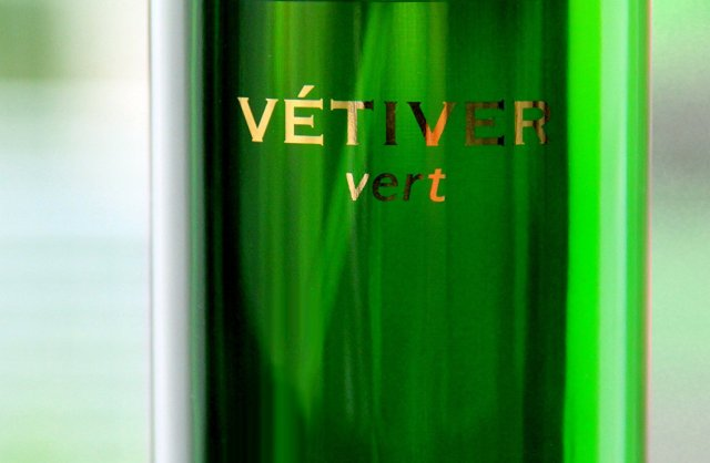 Czech & Speake Vetiver Vert detail