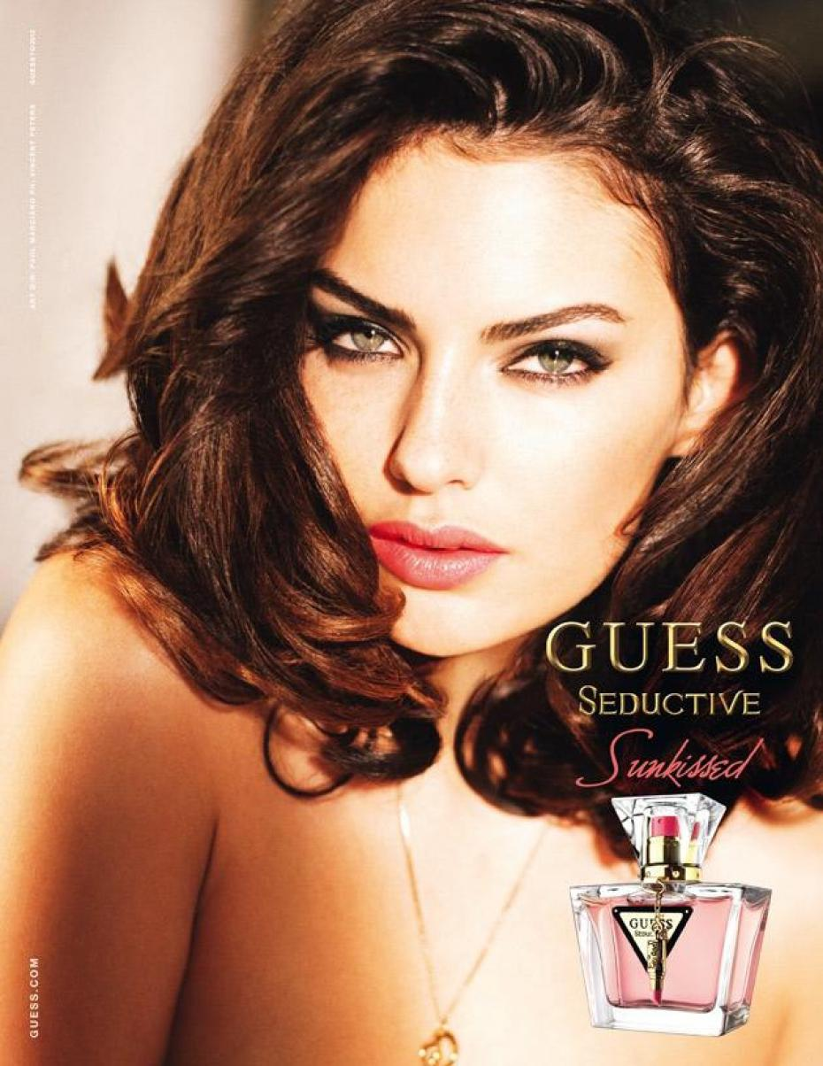 Guess Seductive Sunkissed Bottle ad