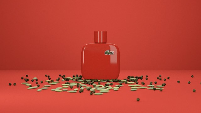 Lacoste Eau de Lacoste L.12.12 Rouge Red Video