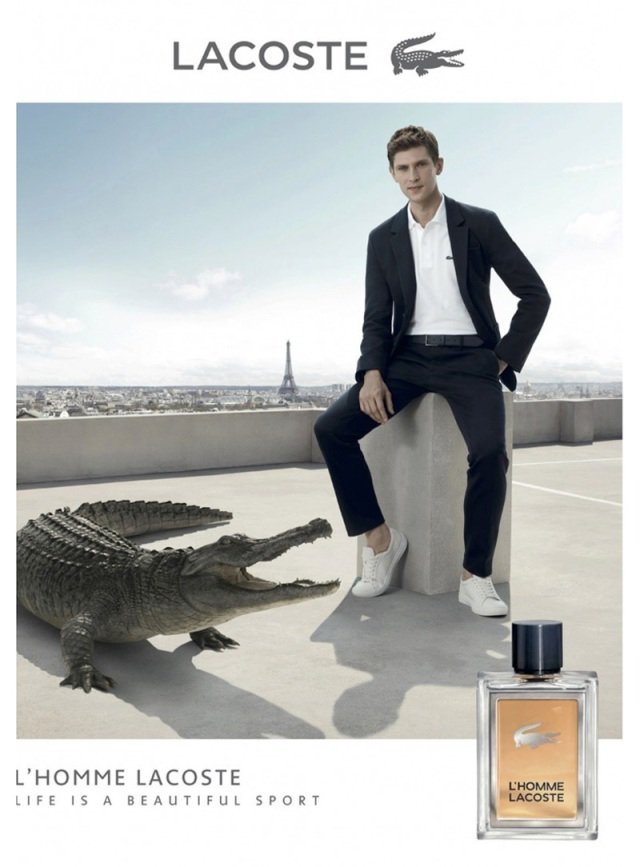 Lacoste L`Homme ad