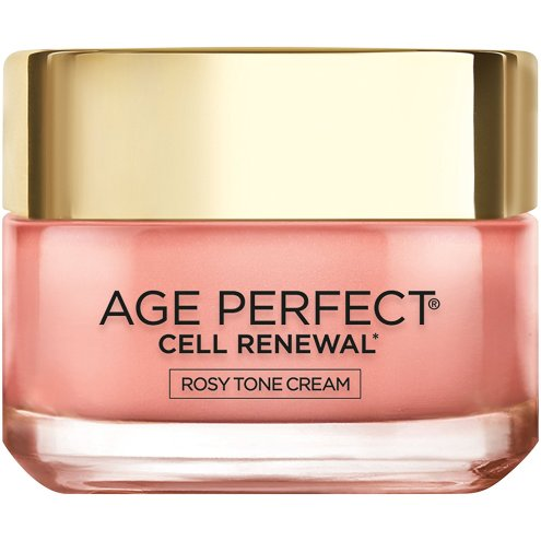 L'Oreal Paris Age Perfect Cell Renewal Rosy Tone Cream jar