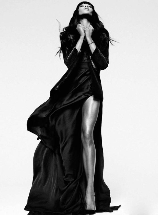 Naomi Campbell Prêt à Porter Silk Collection ad