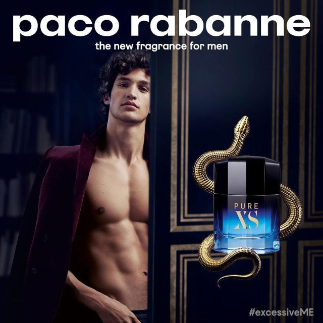 Paco Rabanne Pure XS model ad