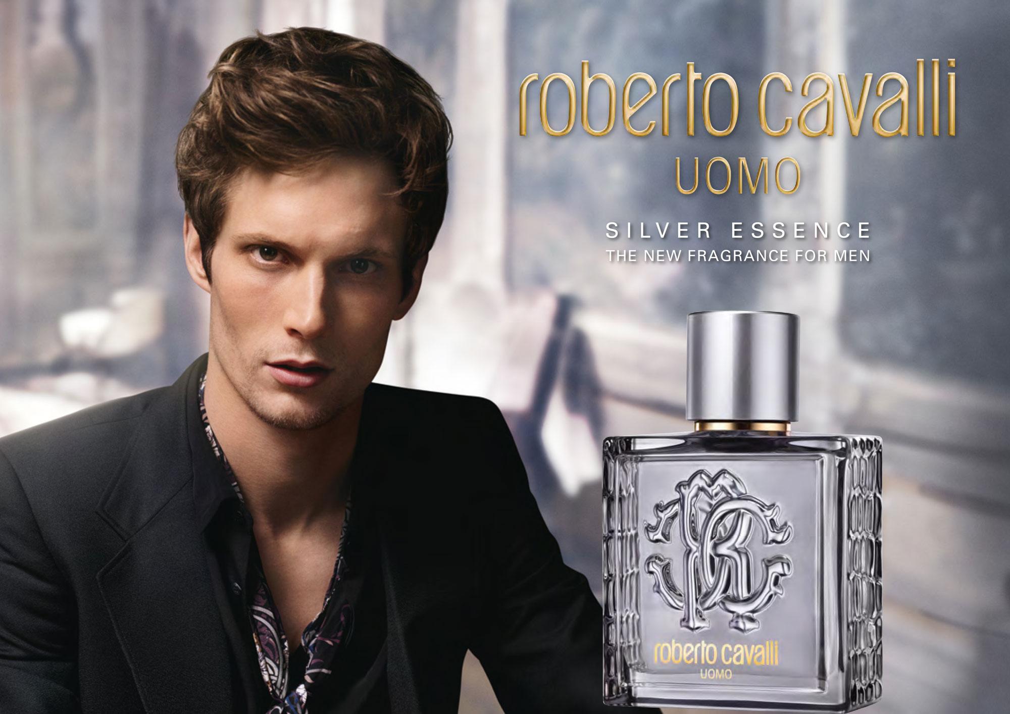Roberto Cavalli Uomo Silver Essence ad.jpg