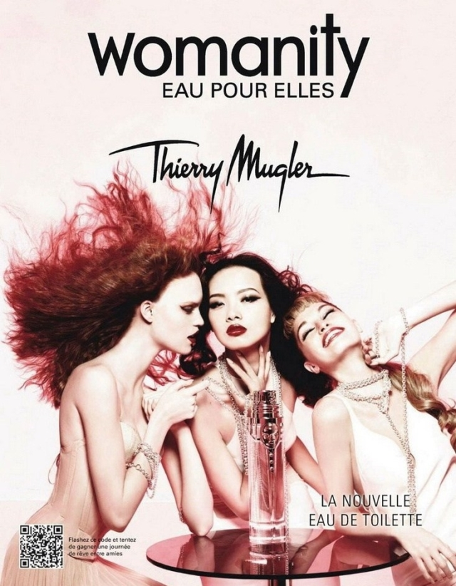 Thierry Mugler Womanity Eau Pour Elles