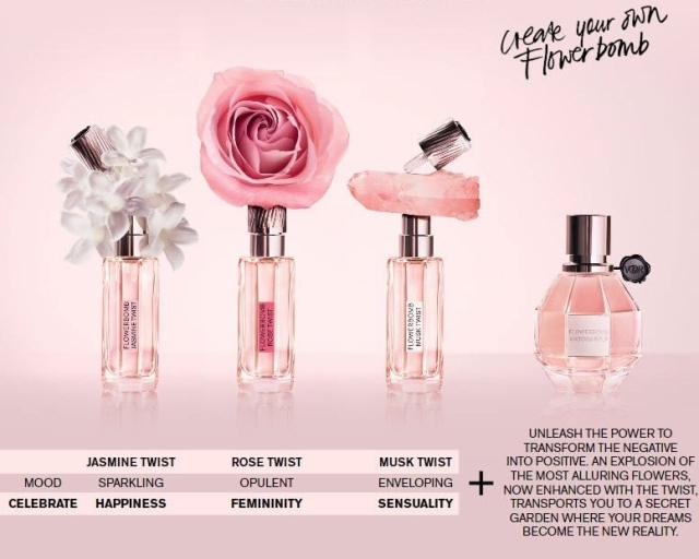 Viktor&Rolf Flowerbomb Twist Layering how to use