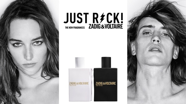 Zadig & Voltaire Just Rock! for Women Men ad