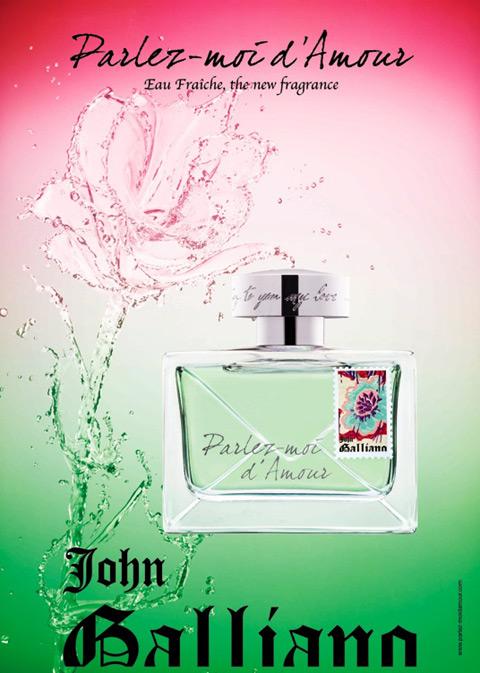 John Galliano Parlez-Moi d'Amour Eau Fraîche Eau de Toilette Visual