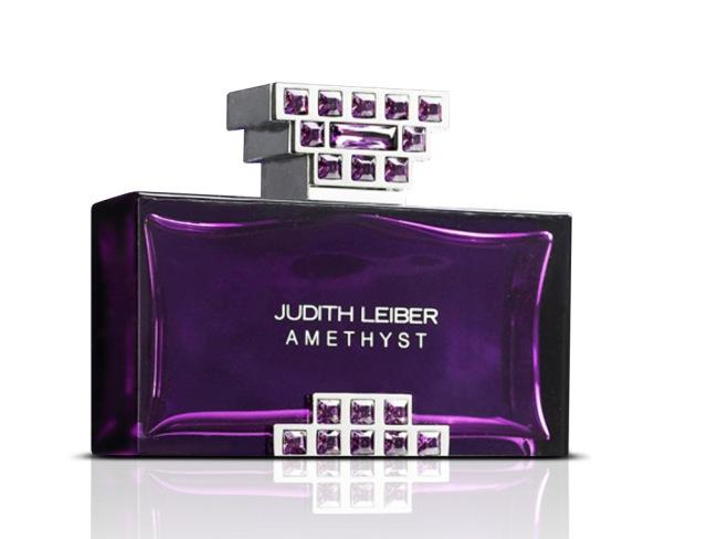 Judith Leiber Amethyst bottle