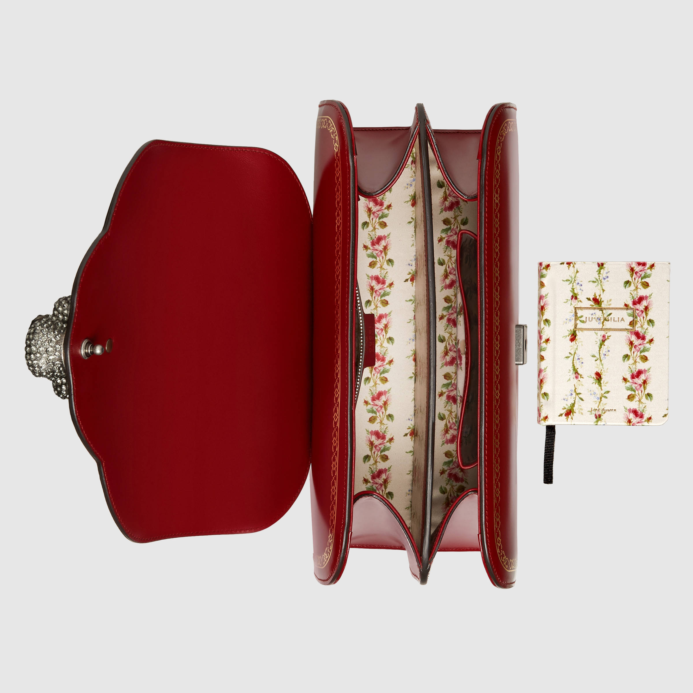 0020Gucci's limited edition Jane Austen book_Light-Frame-print-leather-top-handle-bag