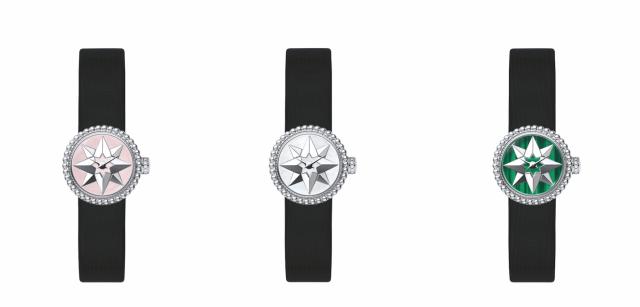 Dior's Mini D Rose Des Vents haute timepieces