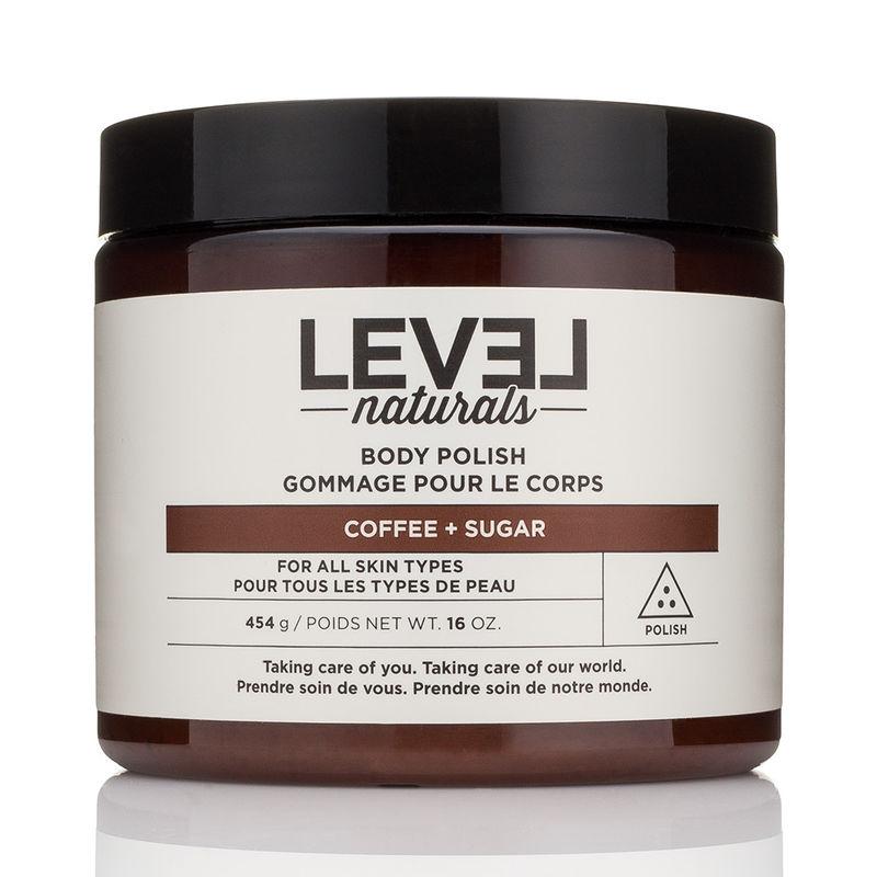 Level Naturals Body Polish Coffee Sugar