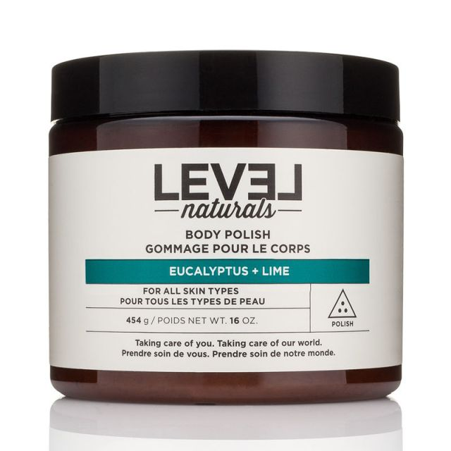 Level Naturals Body Polish Eucalyptus Lime