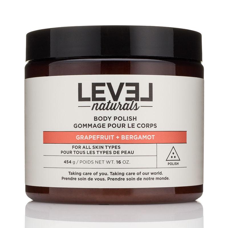 Level Naturals Body Polish Grapefruit Bergamot