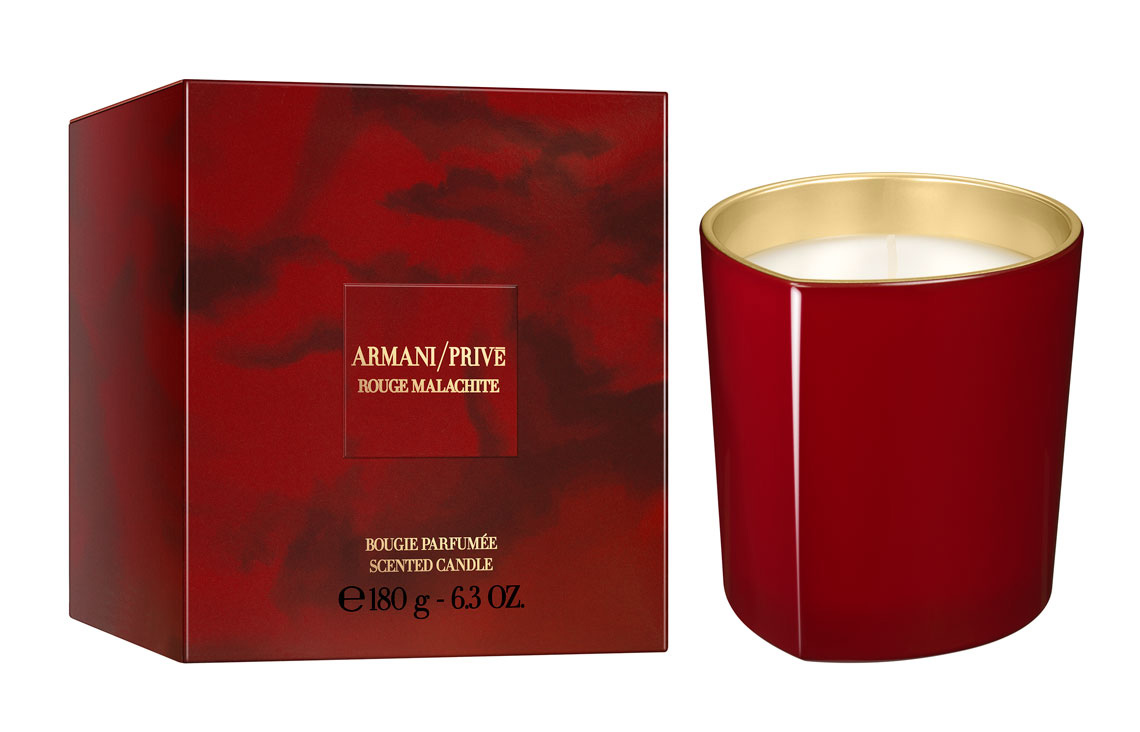 Armani Privé Rouge Malachite Candle