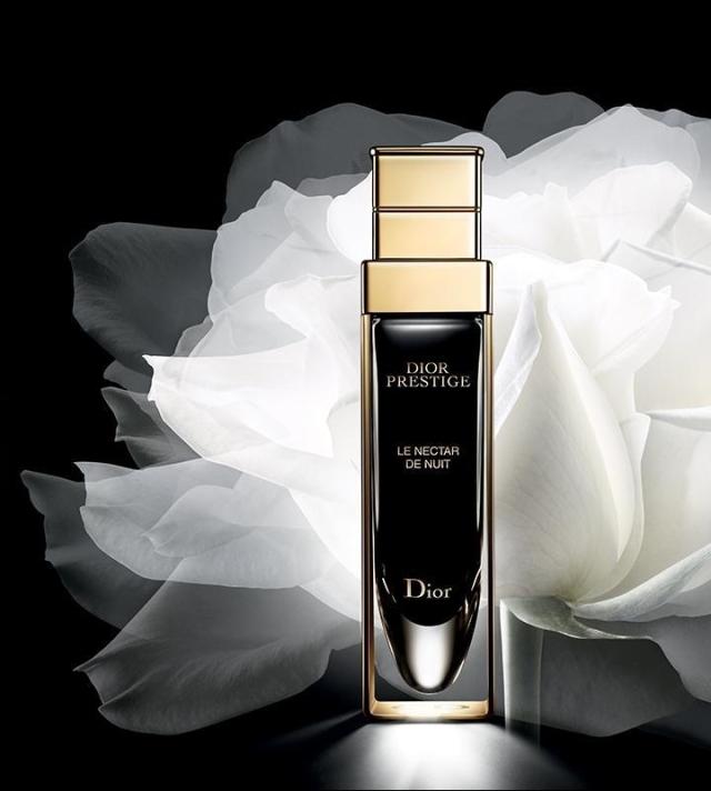 Christian Dior Prestige Le Nectar De Nuit Banner