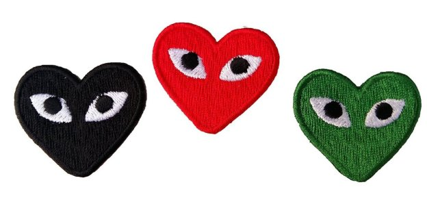 Comme des Garcons Play Black, Green and Red.jpg