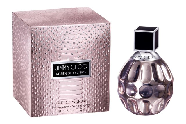 Jimmy Choo Rose Gold Limited Edition Bottle Box