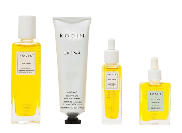 Rodin Olio lusso travel kit products