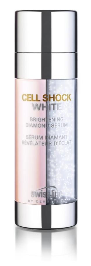 Swiss line Cell Shock White Diamond Bright Brightening Diamond Serum 300 dpi