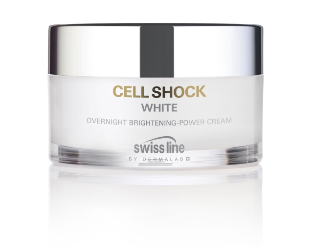 Swiss Line Cell Shock White Overnight Brightening-Power Cream