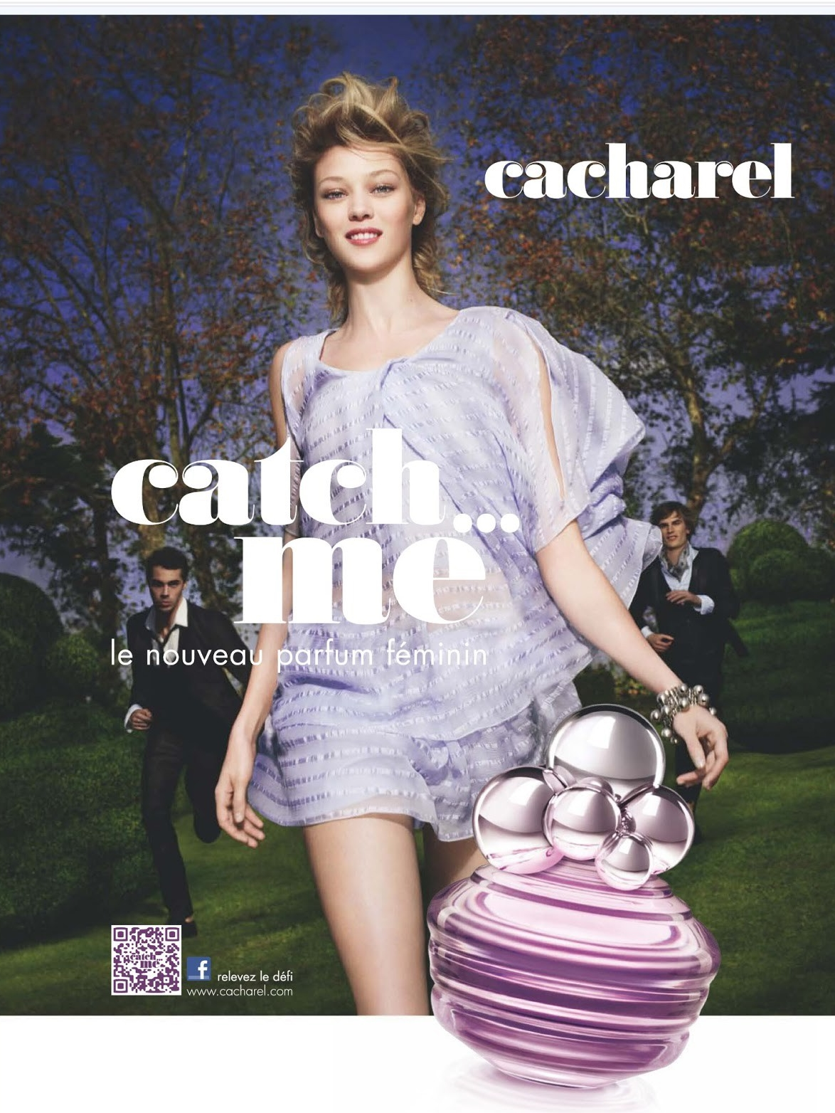 Cacharel Catch…Me Banner