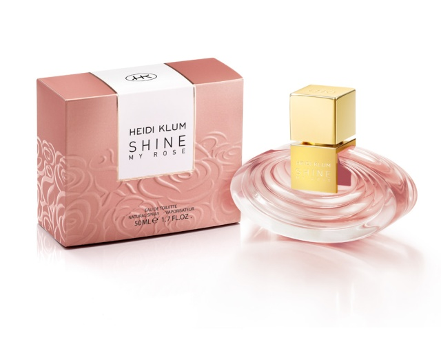 Heidi Klum Shine My Rose Flacon Box