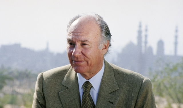 His Highness the Aga Khan in Cairo, Egypt, December 2003-12-Egypt-24910
