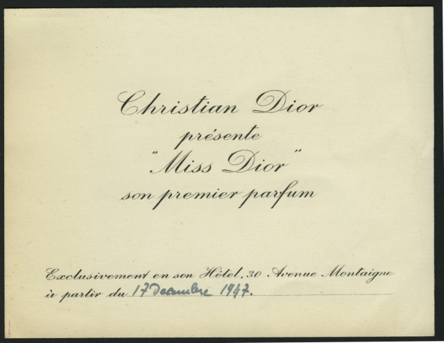 invitation christian dior 70ansmissdior