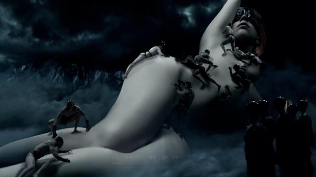 Lady Gaga Fame Banner Video