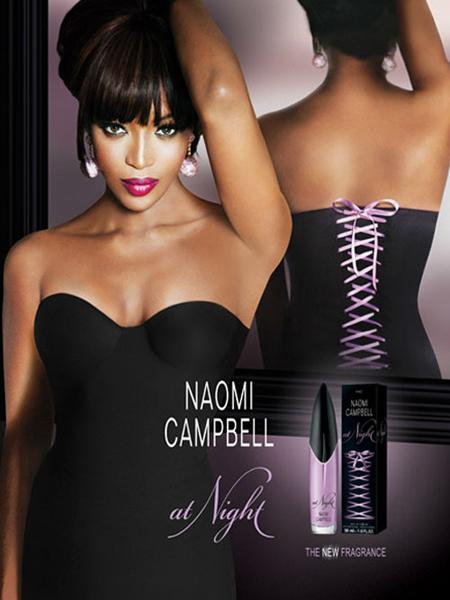 Naomi Campbell At Night Banner small