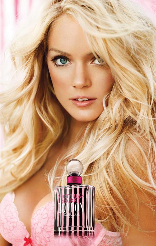 Victoria`s Secret London Perfume Banner