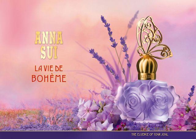 Anna Sui La Vie de Boheme Banner Bottle