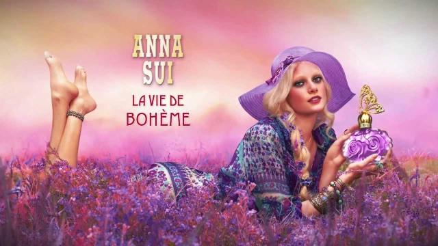 Anna Sui La Vie de Boheme Banner