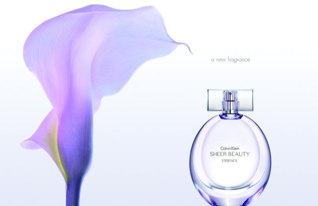 Calvin Klein Sheer Beauty Essence ad
