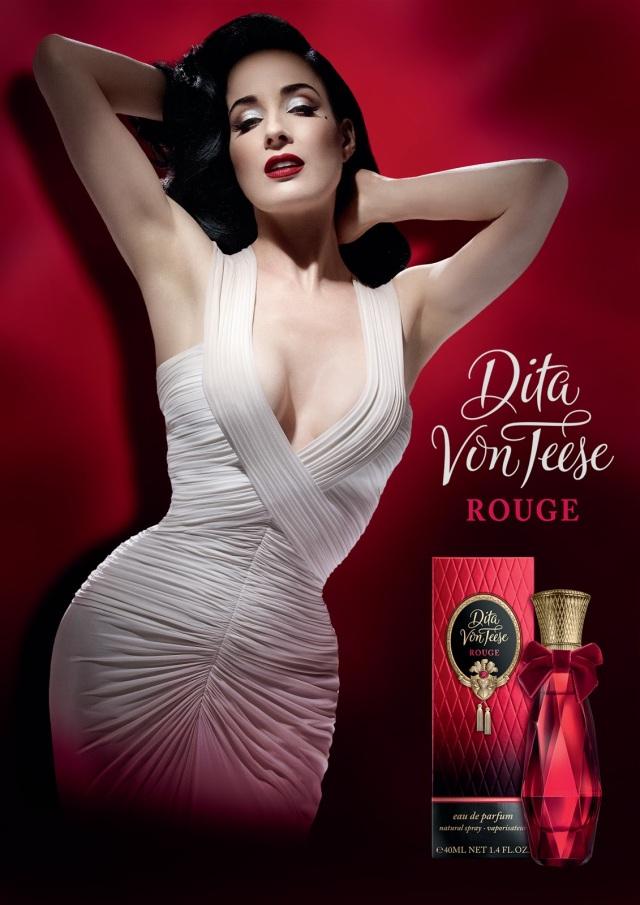 Dita Von Teese Rouge Fragrance Banner