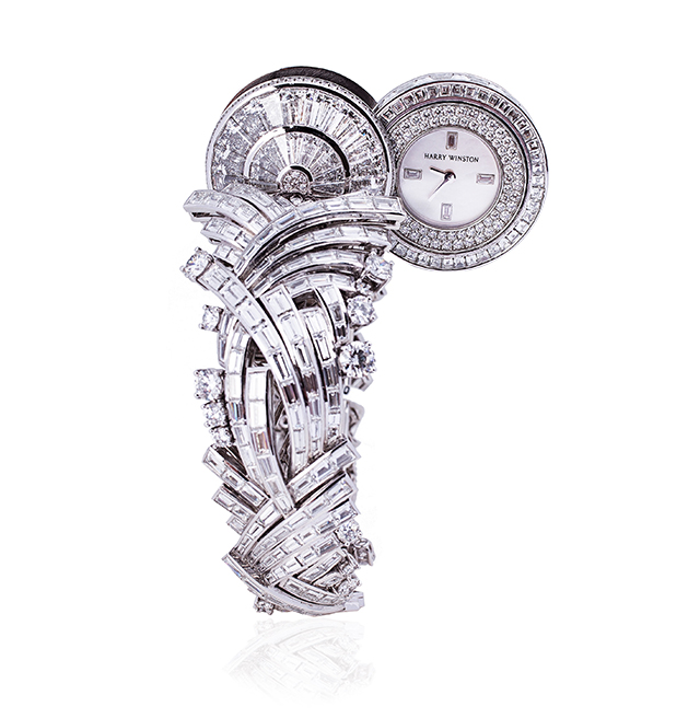 Harry Winston La Marquise watch Open,