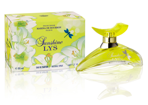 Princesse Marina de Bourbon Sunshine Lys Bottle.
