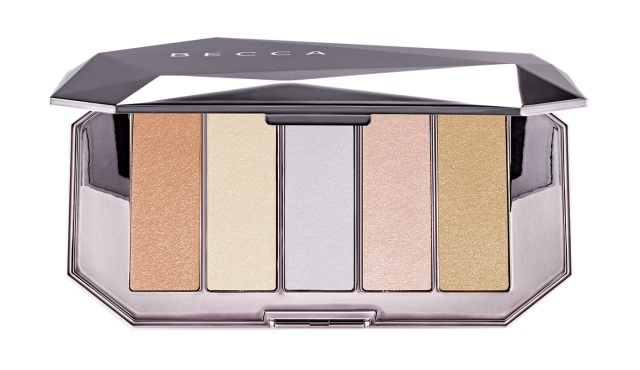Becca Ocean Jewels Highlighter Palette 5 colors