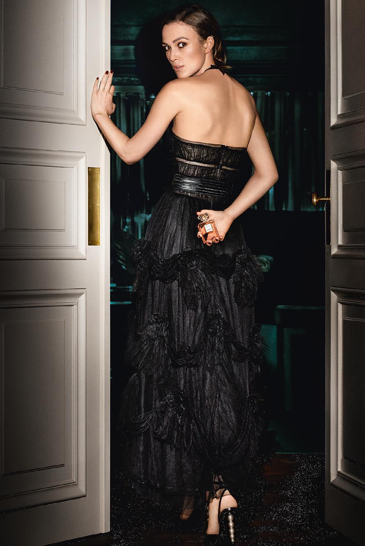 Chanel Coco Mademoiselle Eau de Parfum Intense Banner Keira Knightley
